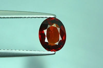 1.660Cts Amazing Top Luster Cut 100% Nr!! Fanta Orange Spessartite Garnet Aaa+++