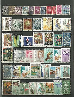 Timbres  Du Portugal    Lot  47 T  Differents