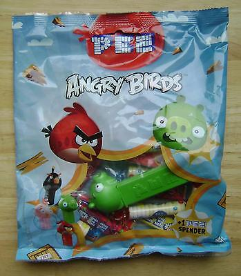 2013 European Pez Big Bag Green Pig From Angry Birds Set