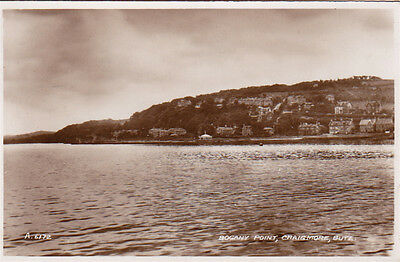 Bogany Point, Craigmore, Bute, Scotland - Posted 1938