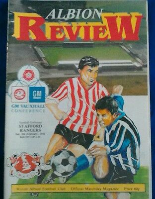WITTON ALBION v STAFFORD RANGERS.  8/2/1992