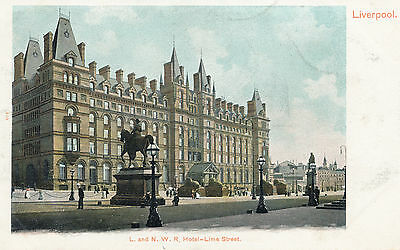 London North Western Railway hotel at Lime St Station. Commercial pc