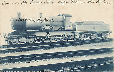 Great Western Railway official pc Passenger loco City of Bath
