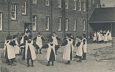 London South Western Railway official Orphanage pc; Girls at Play