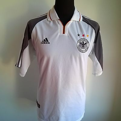 Germany 2000 Home Adidas Football Shirt Jersey Size Adult L