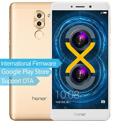 Huawei Honor 6X 4G LTE Móvil Libre Android 6.0 3GB+32GB GPS Móviles libres Gold