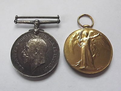 Ww1 Medal Pair - Royal Fusiliers