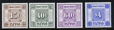 NEVIS #601-604  set of 4 MINT  VF NH