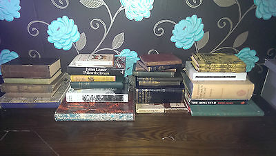 X27 Joblot Of Antique Collectable Books Good Condition!!!!!!!!!!