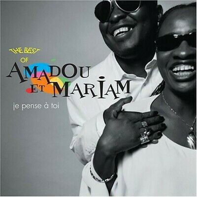 Je Pense A Toi (I Think Of You): Best Of - Amadou Et Mariam (2005, CD NEUF)
