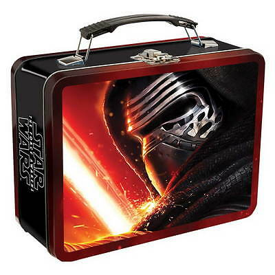 STAR WARS Episode VII Lunchbox aus Metall KYLO REN NEU Essen Box Kiste