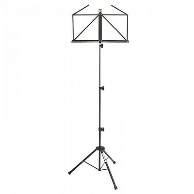 Kinsman Black Heavy Duty Deluxe Music Stand & Bag RRP 22.99 Back To School Offer