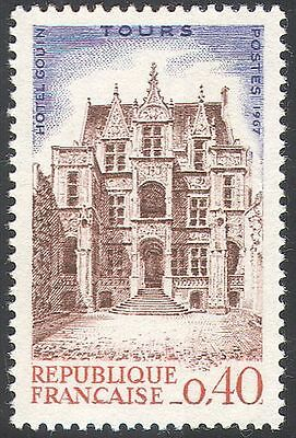 France 1967 Philatelic Congress/Gouin Mansion/Buildings/Architecture 1v (n41916)