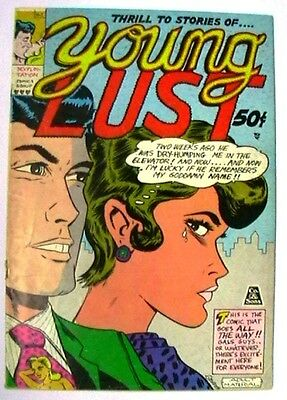 YOUNG LUST 1 VG RARISSIME (underground comic adult, années 1970, 3rd print)