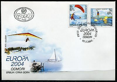 063a SERBIA and MONTENEGRO 2004 - EUROPA Cept - FDC