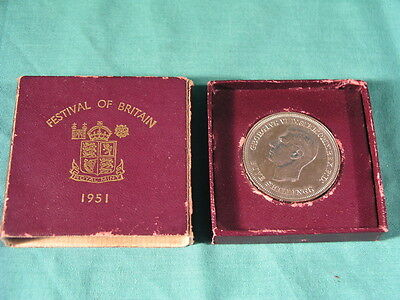 Festival of Britain 1951 Five Shillings Crown Coin