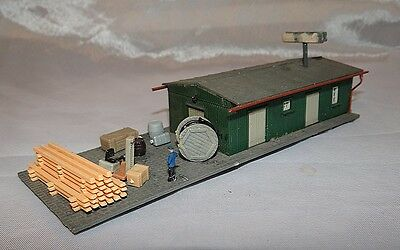 Branchline Goods Depot With Extras, N Gauge / Scale