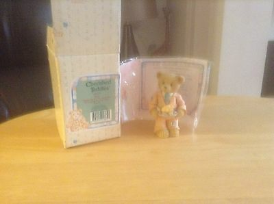 cherished teddie RICK (141291 suited up for the holiday) box and papers