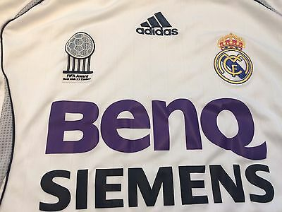 Real Madrid Home Shirt 2006/07