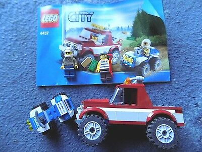 Classic Lego City Set 4437 Complete With Minifigs