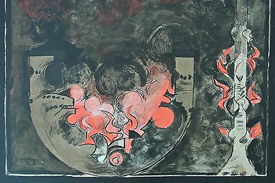Graham Sutherland wonderful original lithograph numbered and signed