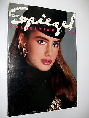 Vintage Spiegel Collection 1988 Fall Winter Catalog