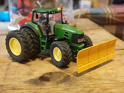 Vintage Siku John Deere 3262 Tractor with Front Plate 1:32 scale Next to New
