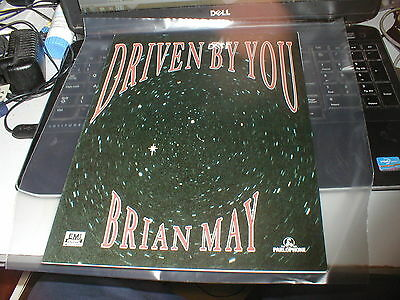 Queen Brian May Driven By You Rare Original Sheet Music N
