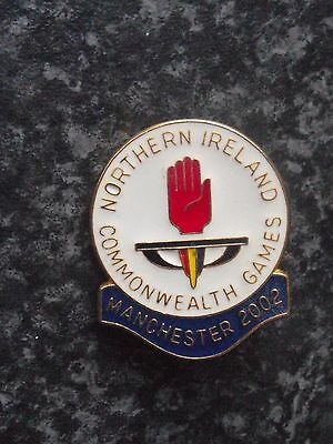 Collectable Lapel Badge 2002Commonwealth Games Northern Ireland