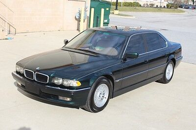 2001 BMW 7-Series 740iL 2001 BMW 740iL EXTREMELY CLEAN ONLY 81K MILES SERVICED NO RESERVE AUCTION