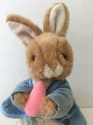 Vintage Peter Rabbit Musical Plush Toy Eden 12 Inch Tall