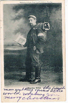 Social History - Ppc - Charles Millot,the Frenchman Walking Round The World,1902