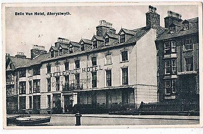 WALES - PPC - THE BELLE VUE HOTEL, ABERYSTWYTH, 1930s