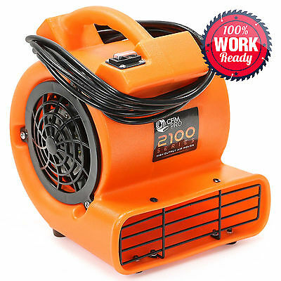 OPEN BOX - Air Mover Blower Carpet Dryer Floor Drying Industrial Fan
