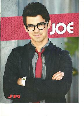 Joe Jonas, The Jonas Brothers, Paramore, Double Sided Full Page Pinup