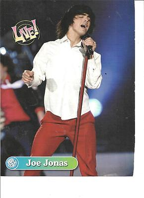 Joe Jonas, The Jonas Brothers, Full Page Pinup