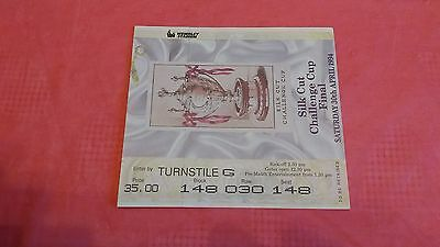 Leeds v Wigan 1994 Challenge Cup Final Used Rugby League Ticket