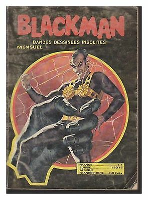 BLACKMAN   N° 203 de 1980 BE  BD INSOLITES EDT DOMINO