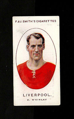 "Bargain Day~~Smith 1922 ( Football ) Type Card "" # 33 Liverpool -- Club Records"