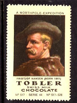 Tobler Chocolate Series 44, A Northpole Expedition, No.517 Poster Stamp