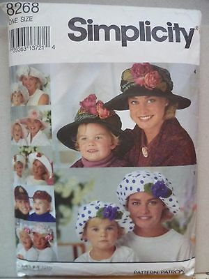 A sewing pattern for making Mother and child hats