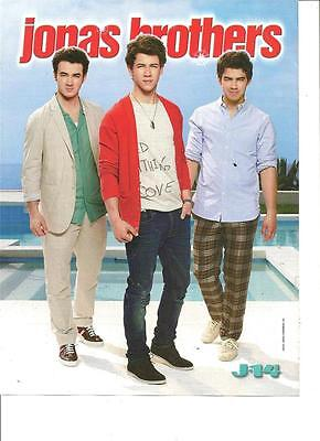 The Jonas Brothers, Big Time Rush, Double Sided, Full Page Pinup