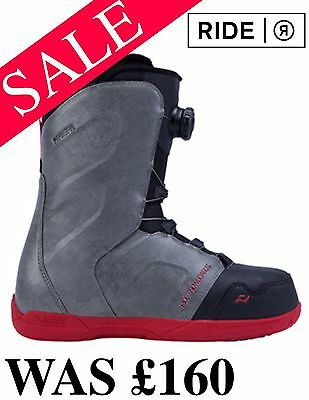 NEW Ride Rook Boa Snowboard Boots UK 10 US 11 RRP £160