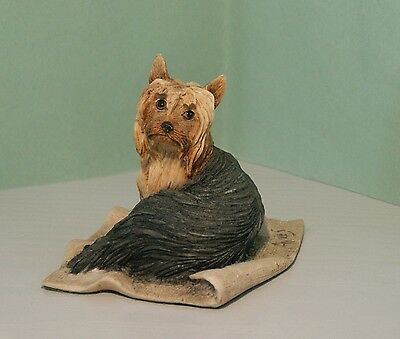 Yorkshire Terrier By Border Fine Arts - Perfect Condition