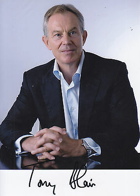 Tony Blair Signed Picture