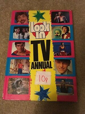 Look In TV Annual 1983 Retro Vintage Superman Madness Orville