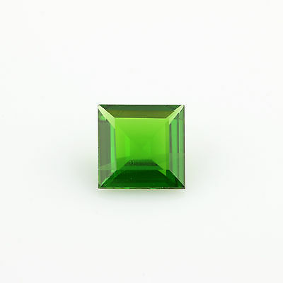 .90ct Loose Diopside Gemstone - Square Green