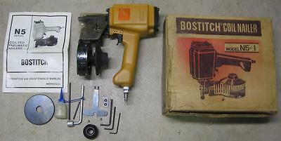Bostitch Model N5-1 Coil Nailer w Box and Instructions