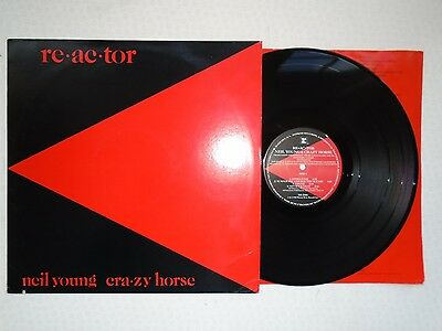 Neil Young-Reactor...superb 1St Pressing Near Mint Vinyl Lp Record 1981