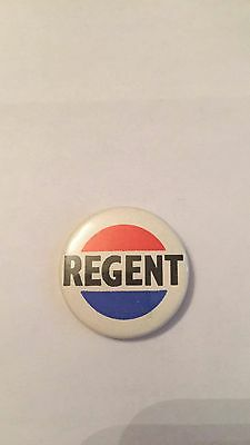 Vintage Regent Petroleum Logo Pin Badge